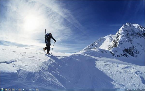 snow sports theme