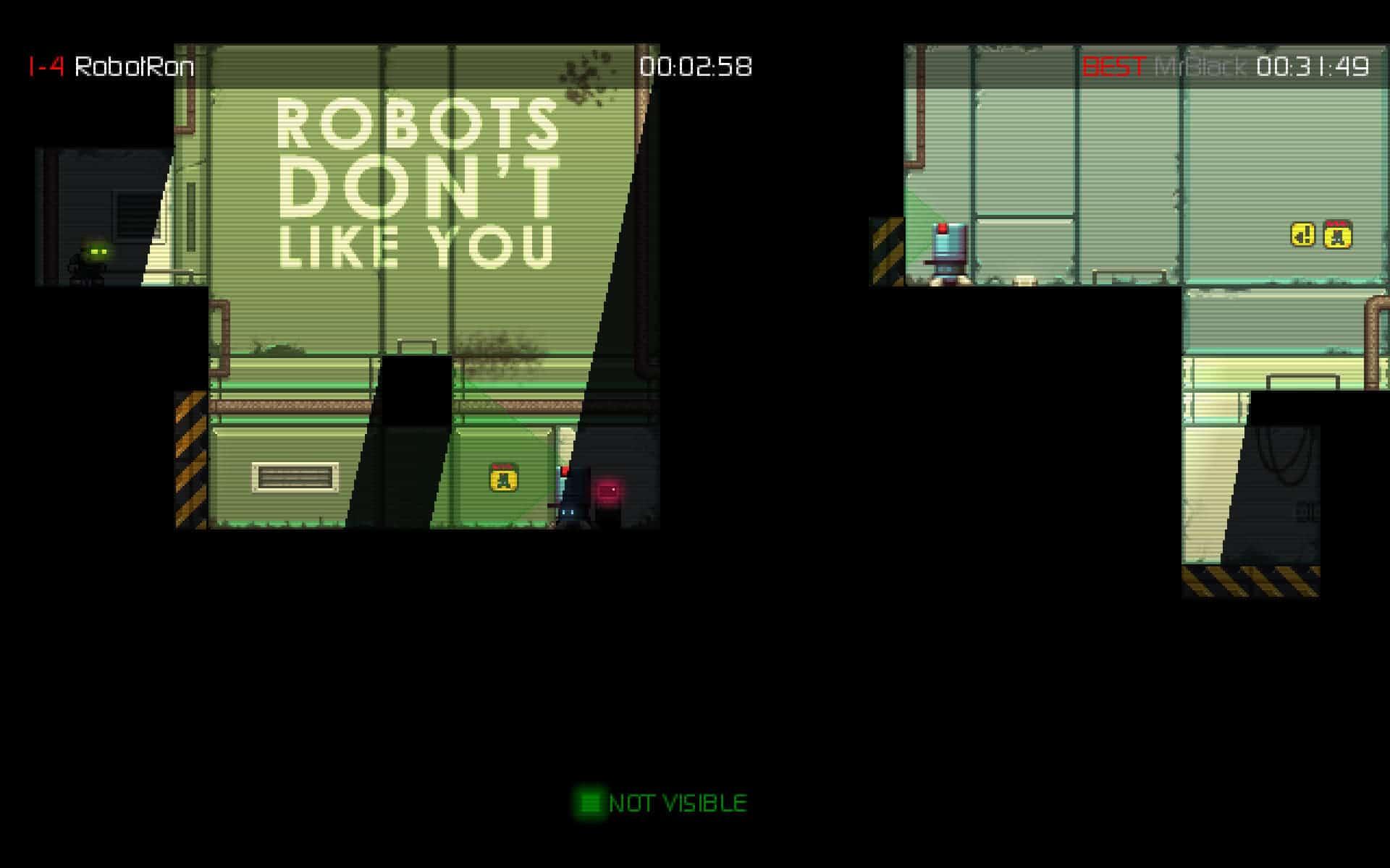 Stealth Bastard, Free 2D-Stealth PC Game - gHacks Tech News