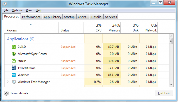Windows 8 Power Consumption, Battery Life