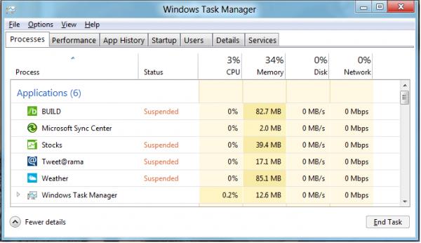 Windows 8 Power Consumption, Battery Life