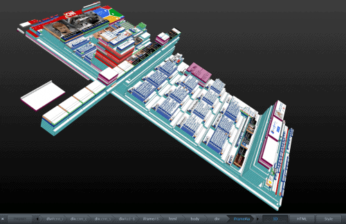 firefox 3d website