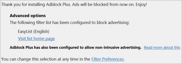 non intrusive advertising