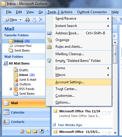 How to Find Your PST Files in Microsoft Outlook 2007 and 2010