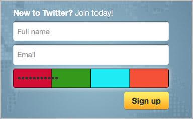 password hash shown on website