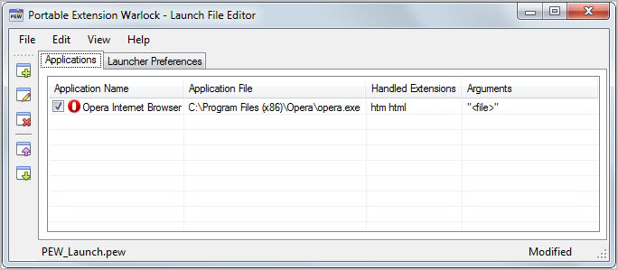 Bypass System File Associations With Portable Extension