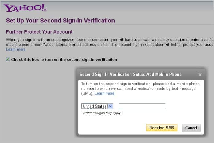 How to create yahoo email without phone verification