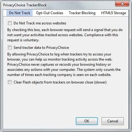 Don't Want To Be Tracked Online? Use TrackerBlock - gHacks