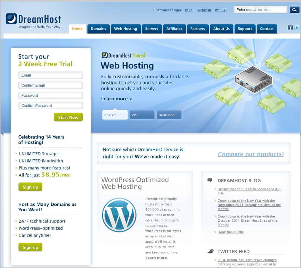 Web Hoster Dreamhost Hacked, Asks Users To Change Passwords