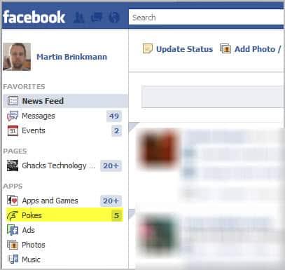 facebook pokes