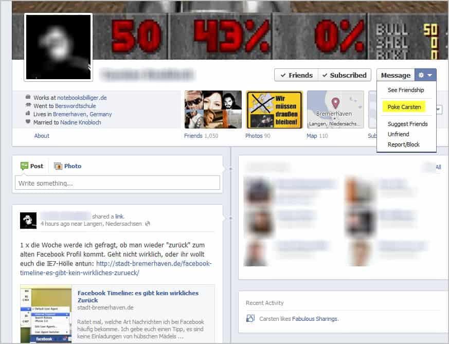 Pokes, How To Display Them Again on Facebook - gHacks Tech News