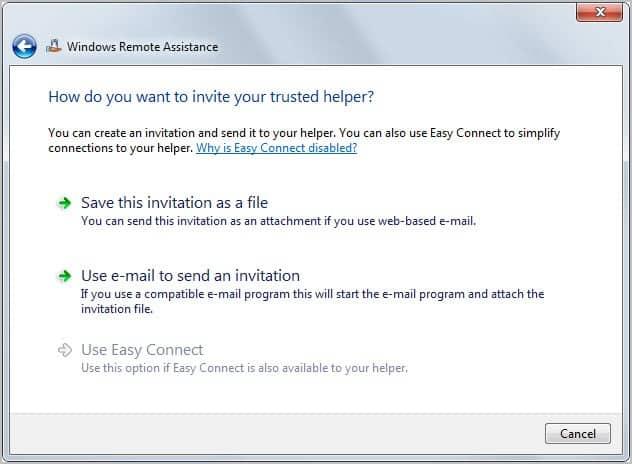 remote access invitation