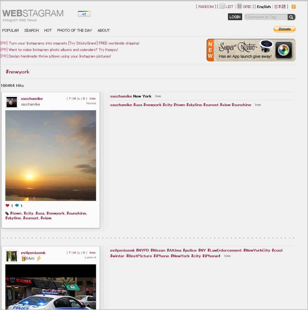 Webstagram, An Instagr am Web Search Engine - gHacks Tech News