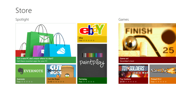 Windows Store, Too Metroesque For The Desktop?