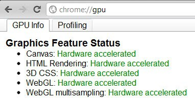 chrome gpu hardware acceleration