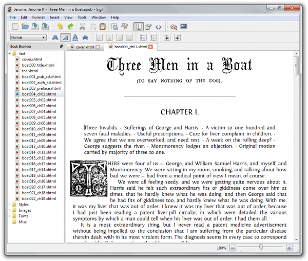 An EPUB Reader overview