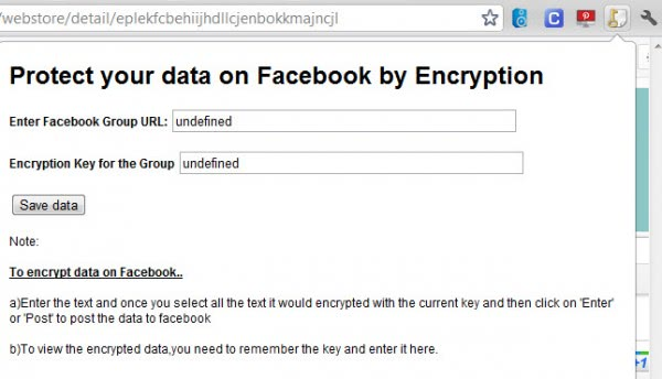 facebook encryption