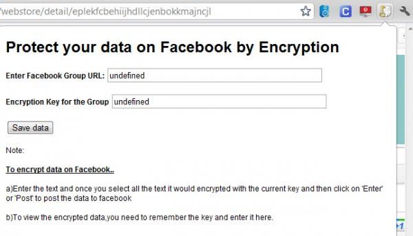 facebook encryption