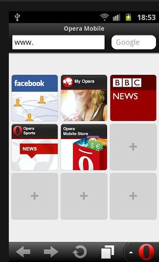 opera mobile browser