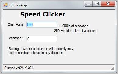 speed clicker