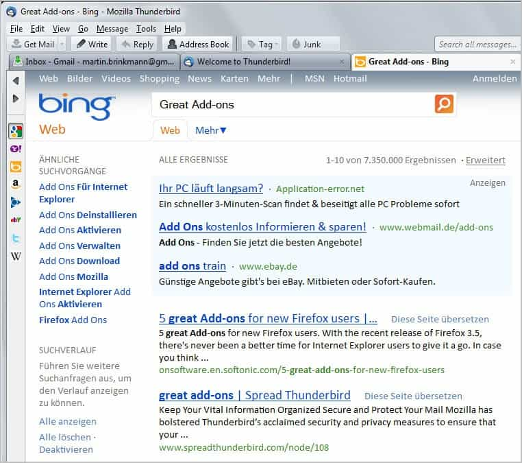 Thunderbird Email Client News Archive - gHacks Tech News
