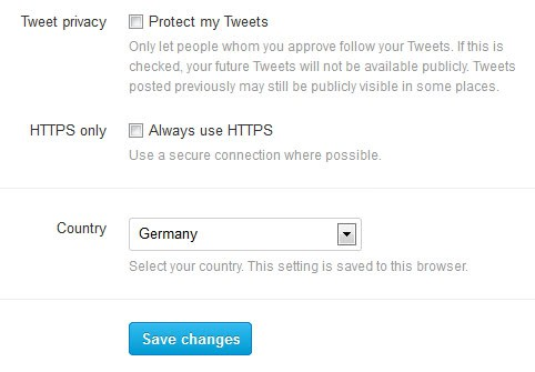 twitter https only