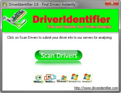 update drivers driveridentifier