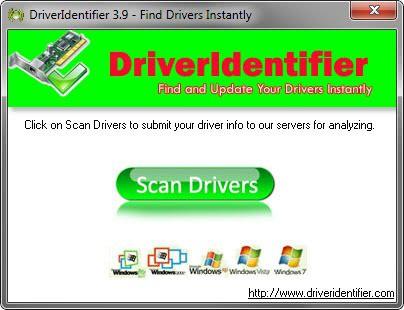 update drivers driveridentifier