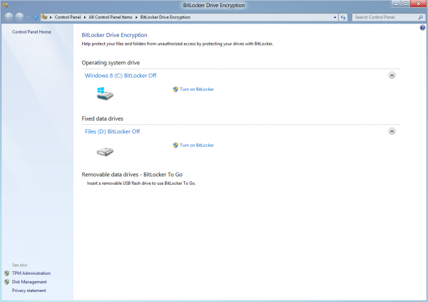 locked out of laptop bitlocker