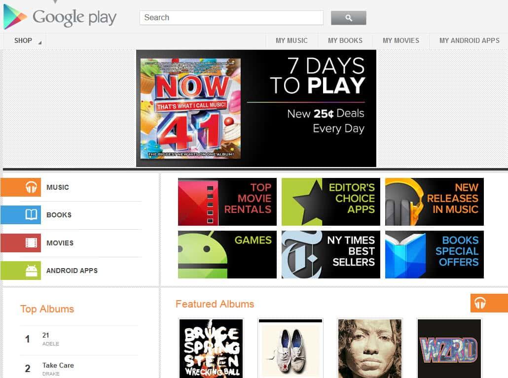 Google Rebrands Android Market, Becomes Google Play - gHacks