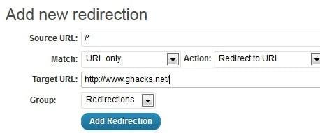 redirection form