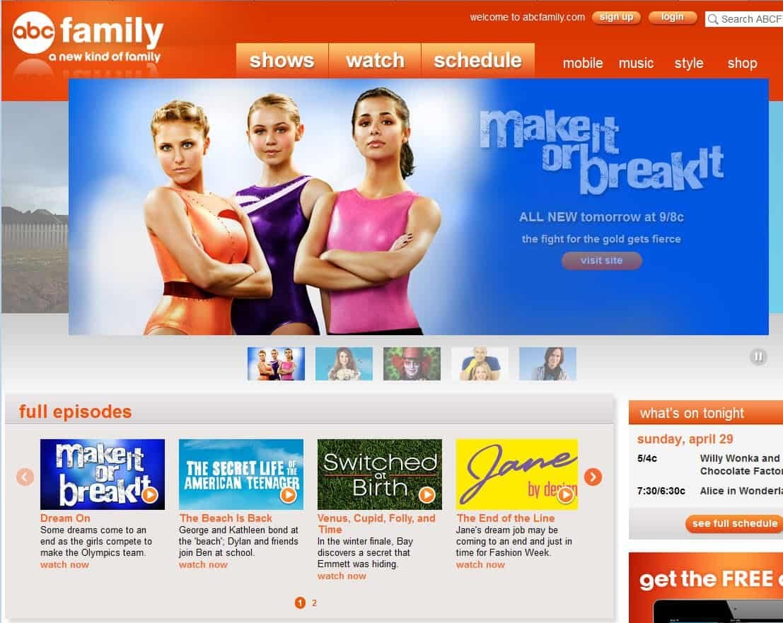 The Best Free Tv Streaming Sites In 2012 Ghacks Tech News