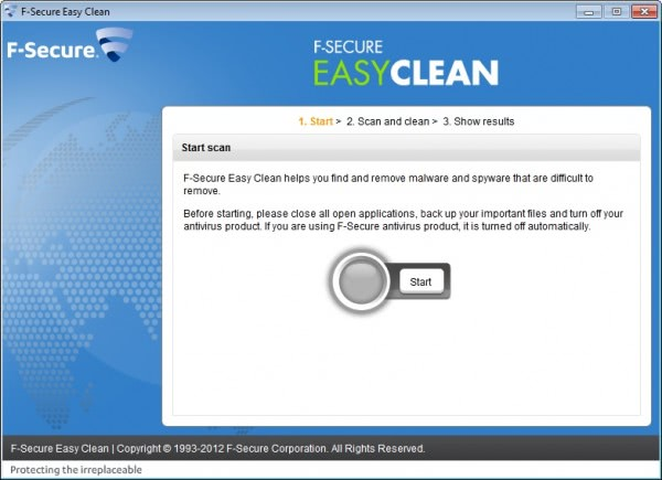 f-secure easy clean