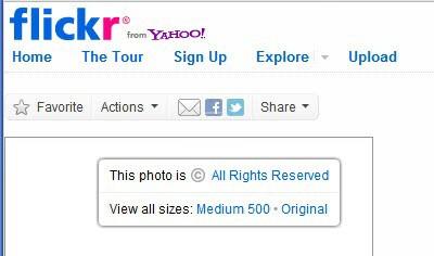 flickr right-click