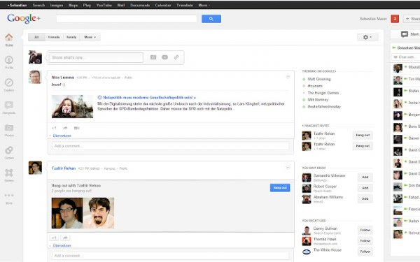 google+ widescreen