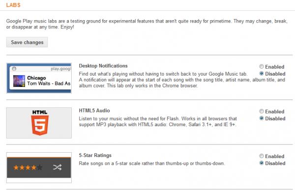 google labs music