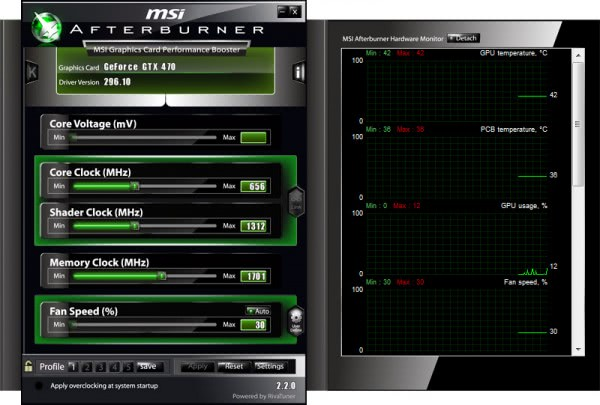 msi afterburner 2.2.0