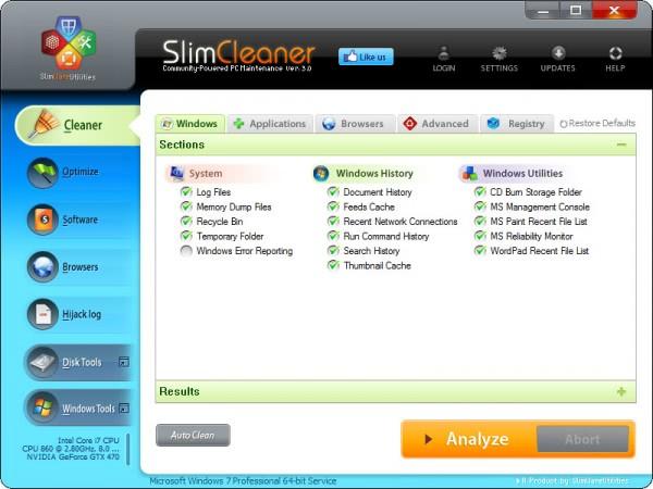 slimcleaner 30