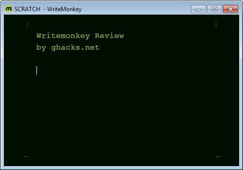 writemonkey 2.3.5