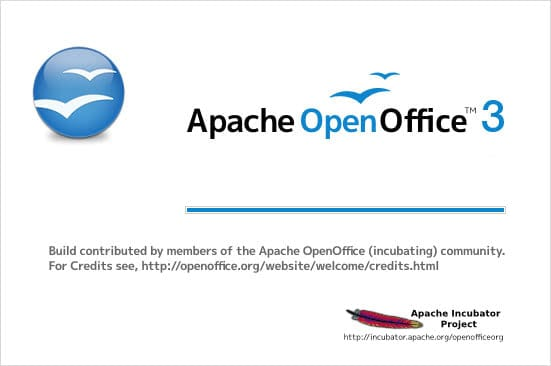apache openoffice 3.4