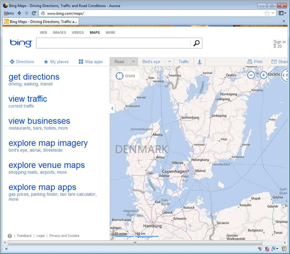 Bing Sitemap: The New Bing Maps, What's Your Take?