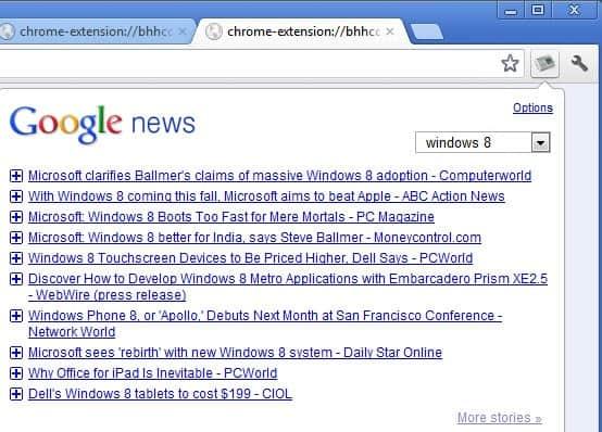 google news reader