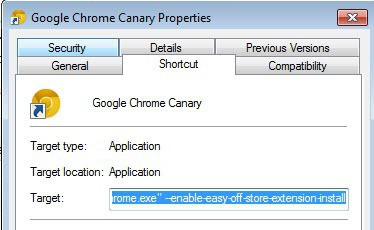 chrome off-store extensions