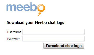 download meebo chat logs