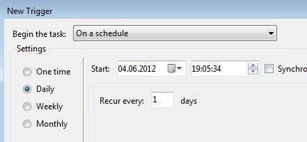 schedule ccleaner
