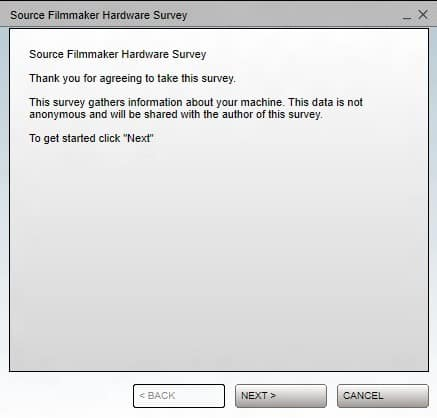 source filmmaker survey