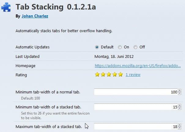 tab stacking firefox