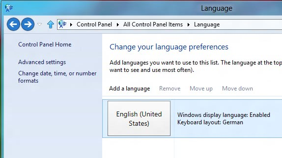 windows 8 languages