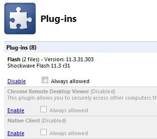 always allow plugins