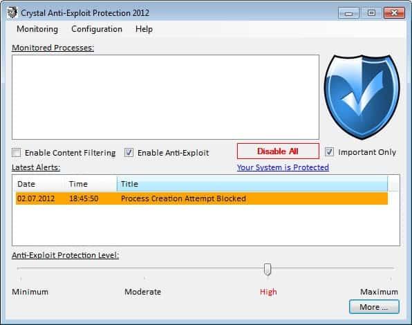 crystal anti-exploit protection