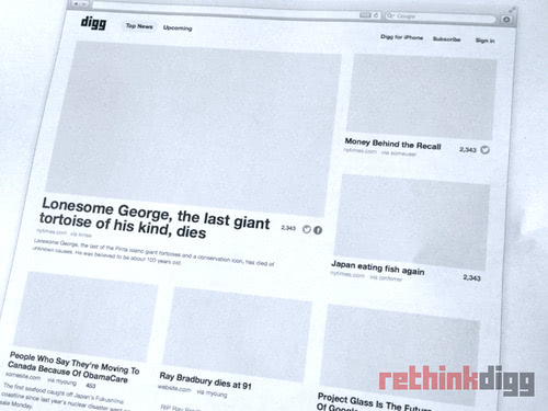 digg relaunch